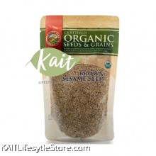 COUNTRY FARM ORGANIC BROWN SESAME SEEDS (200G)