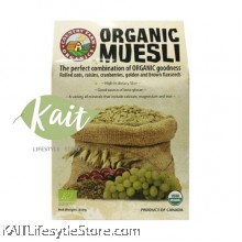 COUNTRY FARM ORGANIC MUESLI (BERRY) 350G