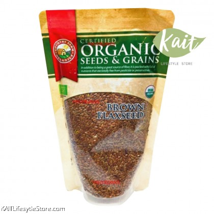 COUNTRY FARM ORGANIC BROWN FLAXSEED (250G)