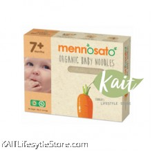 MENNOSATO ORGANIC CARROT BABY NOODLE (200G)