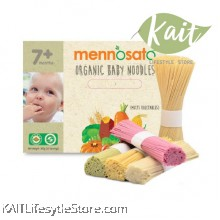 MENNOSATO ORGANIC MULTI-VEGETABLES BABY NOODLE (300G)