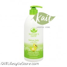 NATURE'S GATE NATURE BABY SHAMPOO AND WASH 180Z (532ML)