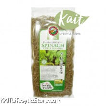 COUNTRY FARM ORGANIC CURLY NOODLE - SPINACH (250G)