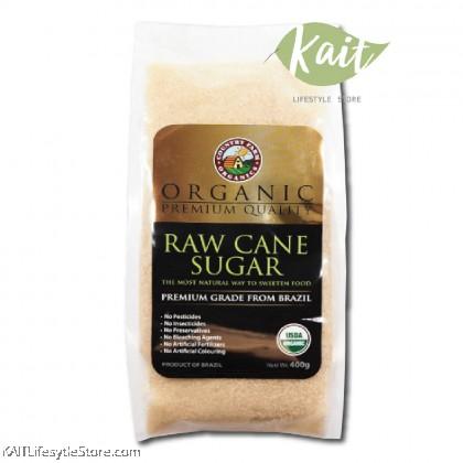 COUNTRY FARM ORGANIC RAW CANE SUGAR (400g)