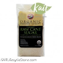 COUNTRY FARM ORGANIC RAW CANE SUGAR (900G)