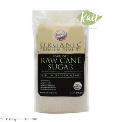 COUNTRY FARM ORGANIC RAW CANE SUGAR (900G)