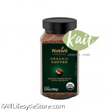 NATIVE ORGANIC FREEZE DRIED COFFEE (90G)