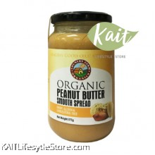 COUNTRY FARM ORGANIC PEANUT BUTTER SMOOTH (375G)