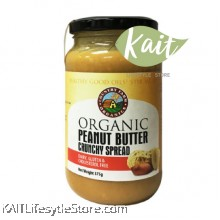 COUNTRY FARM ORGANIC PEANUT BUTTER CRUNCHY (375G)