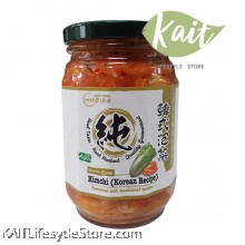 EARTH LIVING Organic Kimchi (Korean Recipe) 380gm
