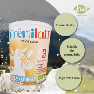 PREMILAIT: Step 3 Premibio Organic Milk Powder (900g)