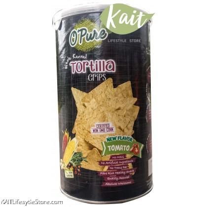 EARTH LIVING O'PURE Tortilla Chips (80g)
