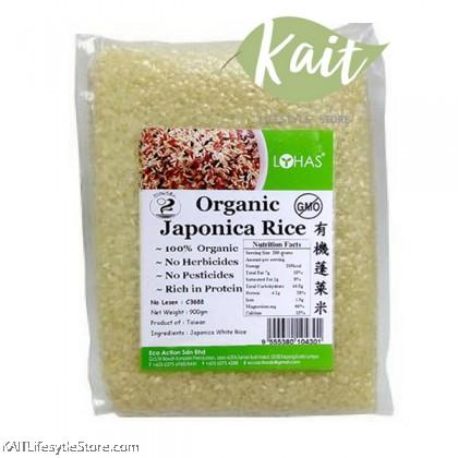LOHAS Organic Japonica Rice (900gm)
