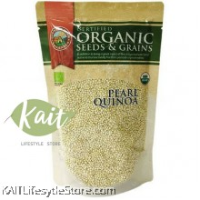 COUNTRY FARM Certified Organic Seeds & Grains Pearl Quinoa (250g)