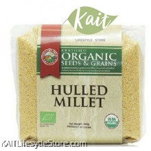 COUNTRY FARM Certified Organic Seeds & Grains Hulled Millet (500g)