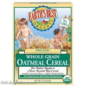 EARTH'S BEST Organic Whole Grain Baby Cereal