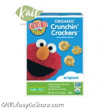 EARTH'S BEST Crunchin' Crackers Wholesome Snacks - Original (150g)