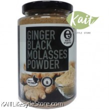 EARTH LIVING ORGANIC Ginger Black Molasses Powder (500g)