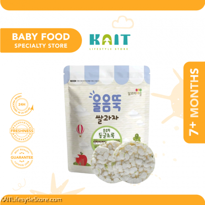 SSALGWAJA Organic Baby Rice Cake 7 Months (30g)