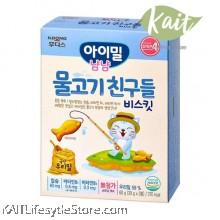 ILDONG Agimeal Yumyum Vitamin Village Fish Friends (60g) [For Kids]