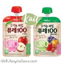ILDONG Organic 100% Fruits Puree (80g) [12months+]