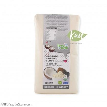 LOVE EARTH Organic Coconut Flour (900g)