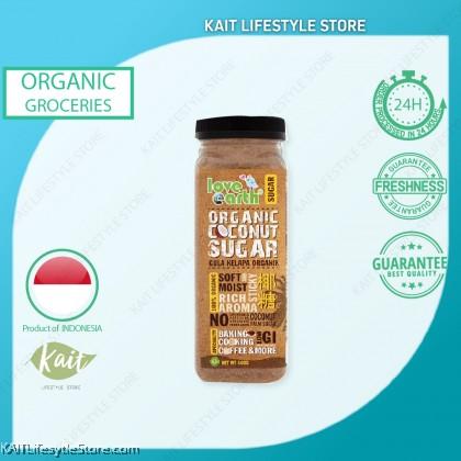 LOVE EARTH Organic Coconut Sugar (400g)
