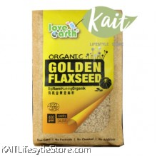 LOVE EARTH Organic Golden Flaxseed (400g)