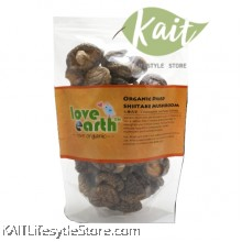 LOVE EARTH Organic Dried Shiitake Mushroom (80g)