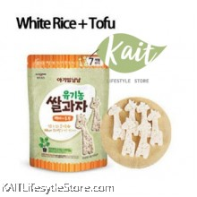 ILDONG Agimeal Yumyum White Rice And Tofu Organic Rice Cake (29g)