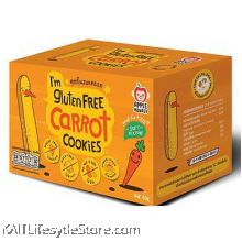 APPLE MONKEY: Gluten Free Cookies - Carrot (60g)