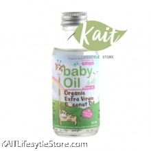 LOVE EARTH Organic Baby Coconut Oil (Extra Virgin) (60ml)