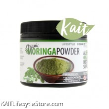 LOVE EARTH Organic Moringa Leaf Powder (185g)