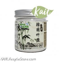 LOVE EARTH Korean Bamboo Salt[3 Times Burning Process](310g)