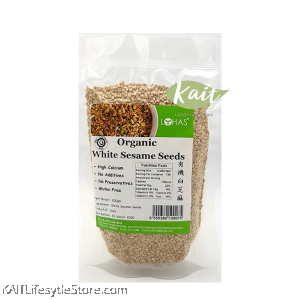 LOHAS Organic White Sesame Seeds (200gm)