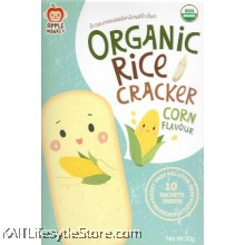 APPLE MONKEY: Organic Rice Cracker - Corn (30g)