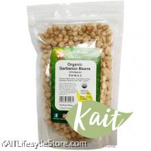 HEALTH PARADISE Organic Garbanzo Beans [Chickpeas] (500gm)