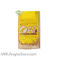 LOVE EARTH Organic Quick Rolled Oat (400gm)