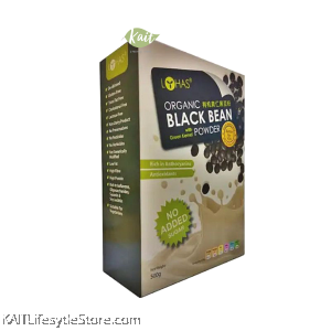 LOHAS Organic Black Bean With Green Kernel Powder (500gm)