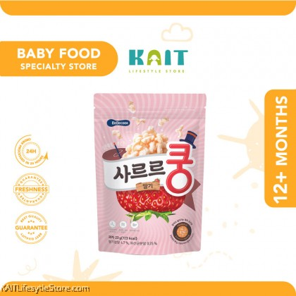 BEBECOOK Baby Melting Puff {Added Probiotic} (23g) [12 Months]