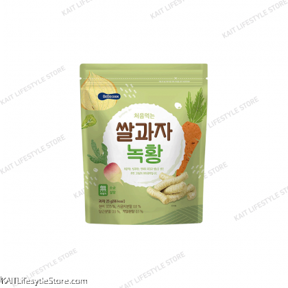BEBECOOK Wise Mom Organic Rice Snack (25g) [7~12months]