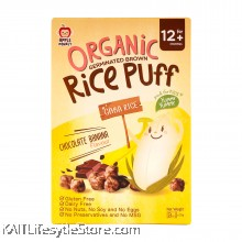 APPLE MONKEY: Organic Rice Puff - Chocolate Banana (30g)