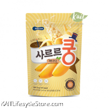BEBECOOK Baby Melting Puff Banana [Added Probiotics] (23 g)