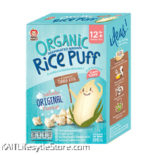 APPLE MONKEY: Organic Rice Puff - Original (30g)
