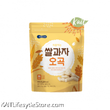 BEBECOOK Wise Mom Organic Rice Snack Grain (25 g) [7 months]