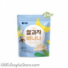 BEBECOOK Wise Mom Rice Snack Banana (25 g) [12 months]
