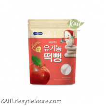 BEBECOOK Organic Rice Snack Apple (30 g) [6 months]
