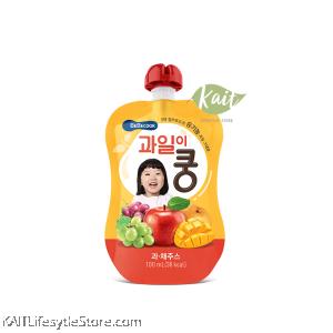 BEBECOOK Wise Mom Organic Fruit Juice (100 ml) [9 months]