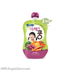 BEBECOOK Wise Mom Organic Fruit and Vegetable Juice (100 ml) [9 months]