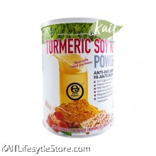 EARTH LIVING Organic Turmeric Soy Milk Powder (800g)
